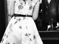 Girl Standing @ Window, New York. April