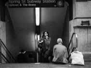 Spring St. Subway Station, New York. Oct