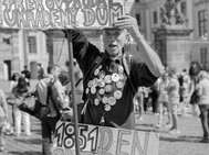 Protestor, Prague. August 28, 2014.jpg