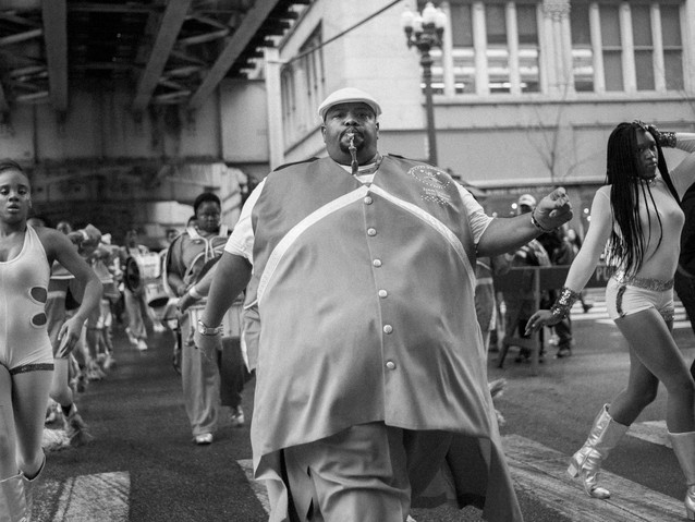 Bigman and Dancers, Chicago. October 13,