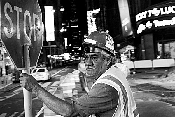 Construction Worker, NY. September 25, 2