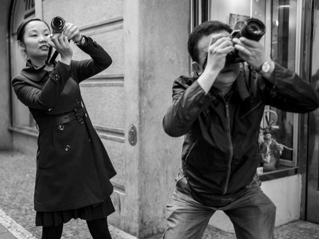 Shooting Something Interesting, Prague.