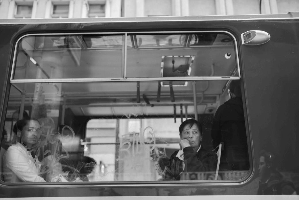 Riding Tram, Prague. August 26, 2014.jpg