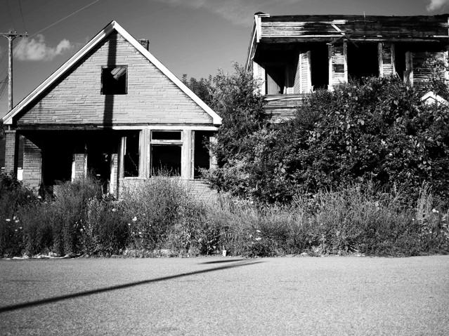 Detroit Neighborhood, Detroit. August 3,