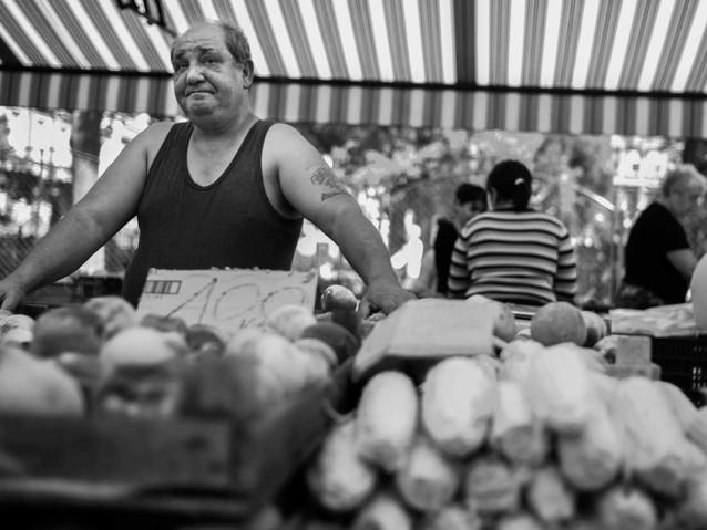 Farmer's Markt, Budapest. August 30, 201