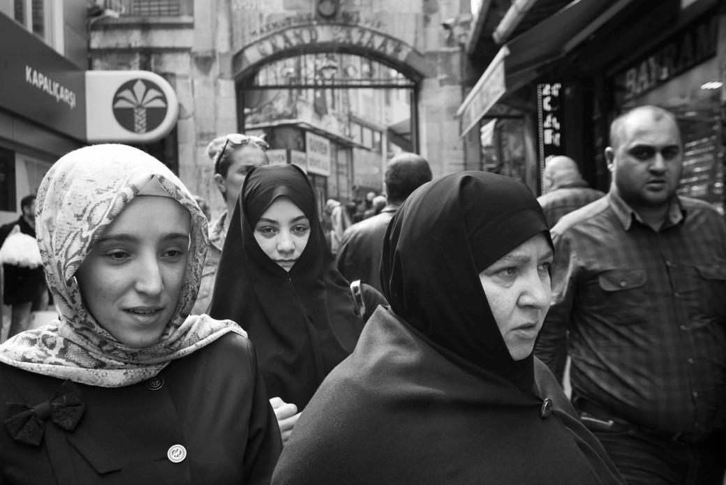 Three Muslim woman at the Grand Bazaar.jpeg