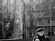 Old Man, Thinking, Barcelona. Nvember 20