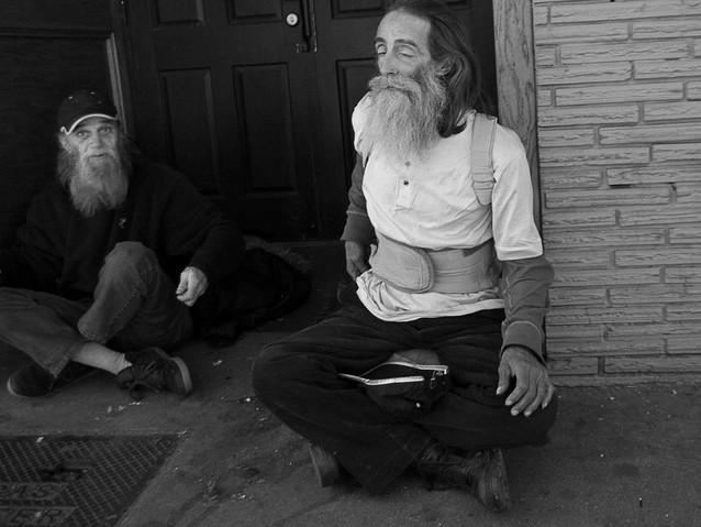two indigants, Atlanta. February 16, 201