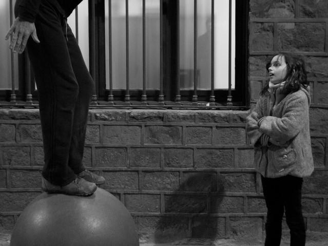 Balancing Act, Barcelona. November 22, 2