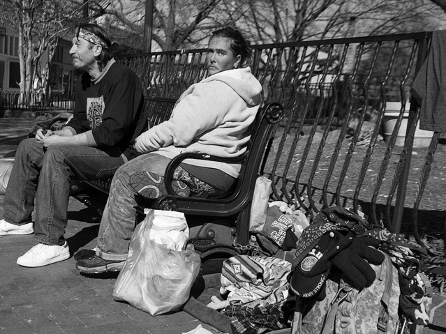 On the street, Atlanta. February 16, 201