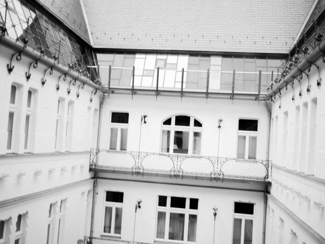Gresham Palace, Budapest. August 31, 201