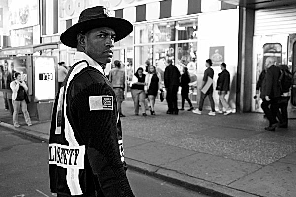 Security Time Square, NY. September 25,