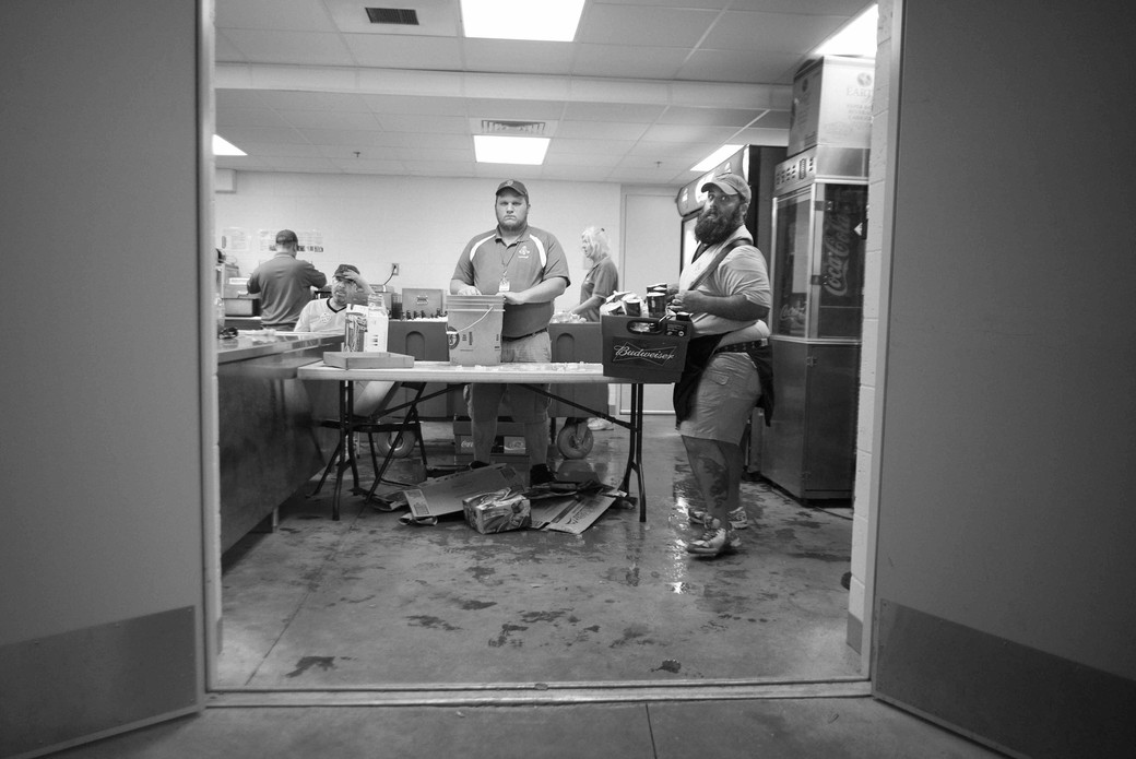 Vendors behind the scenes, Spring Training, Florida. March 15, 2014.jpeg