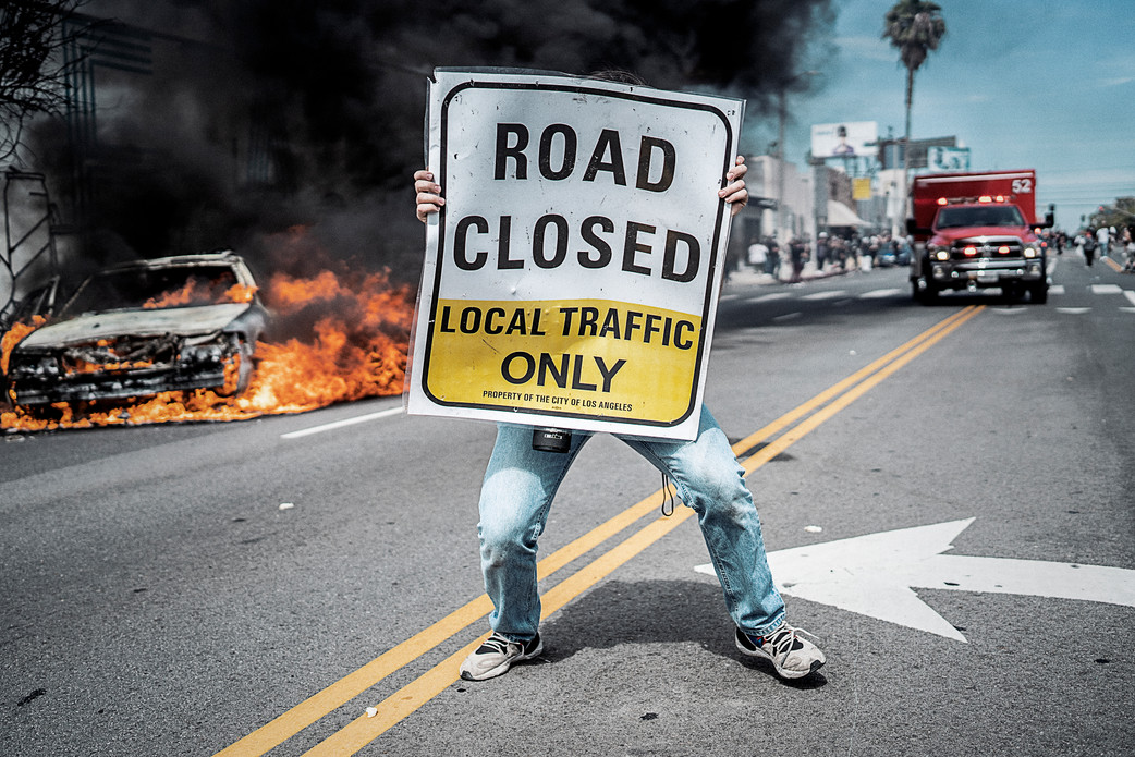 1. Los Angeles  Riot - 3rd & Fairfax, Los Angeles. May 30, 2020.jpg