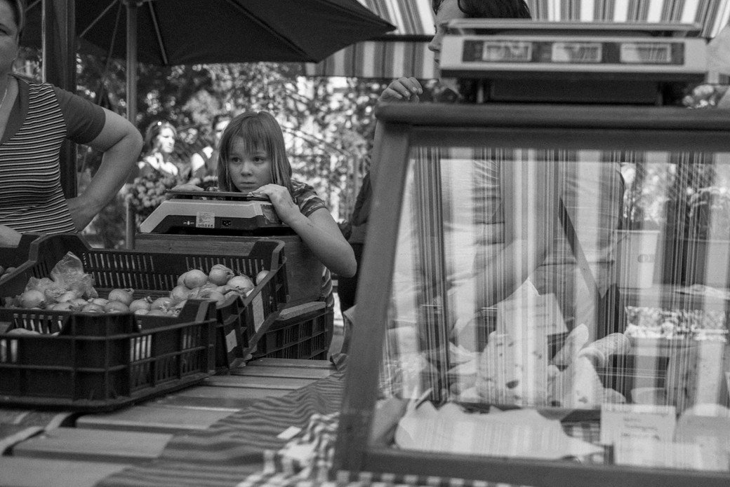 Hungarian Girl on a Scale, Budapest. August 30, 2014.jpg