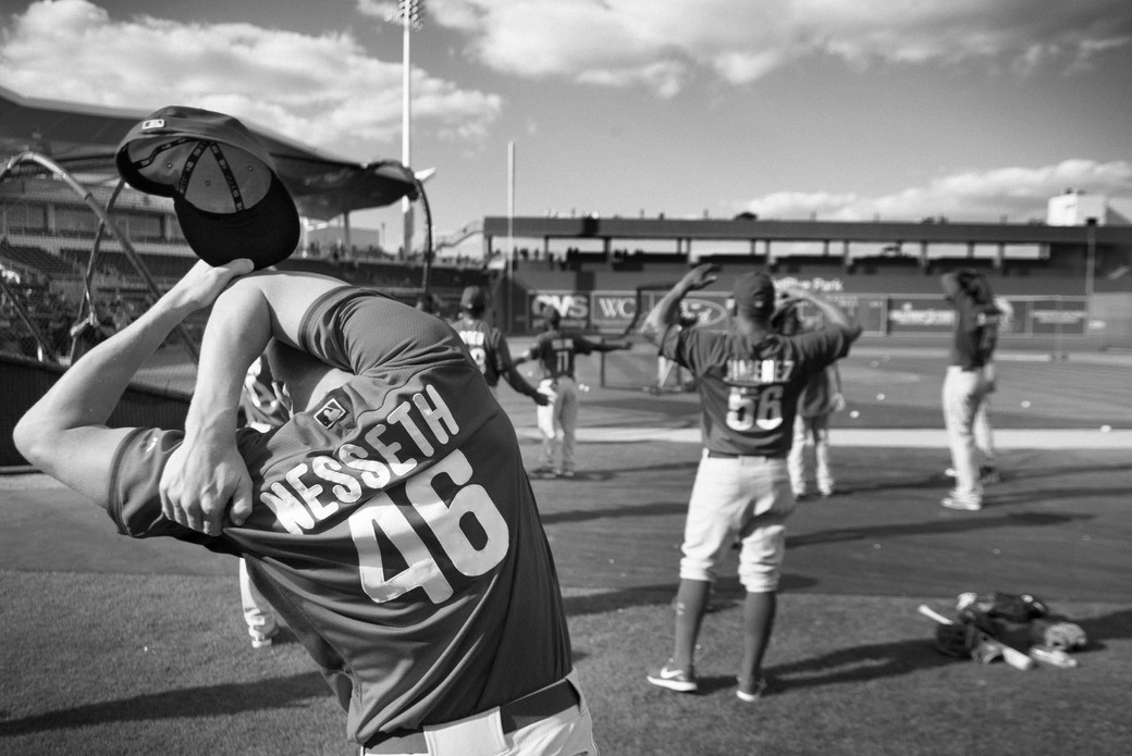 Philly's warmup, Spring Training, Florida. March 15, 2014.jpeg