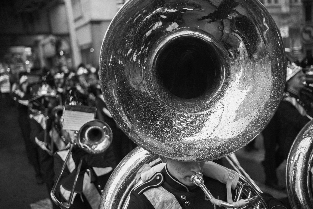 K think It's a French Horn, Chicago. October 13, 2014.jpg
