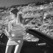 Leaning On A Car, Malibu. March 28, 2021