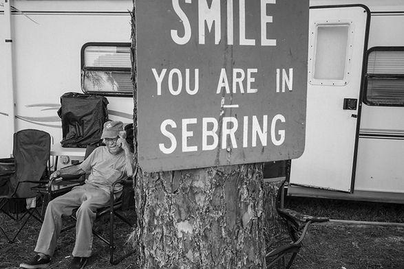 Smile, Your are in Sebring, Sebring. Mar