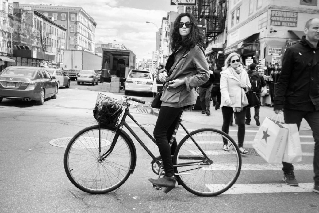 Woman Riding Bicycle on Church Street copy.jpeg