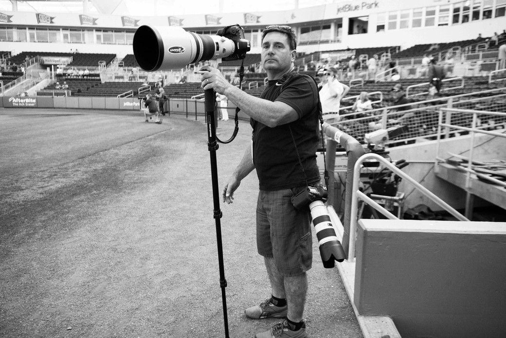 Shooting the game, Spring Training, Florida. March 15, 2014.jpeg