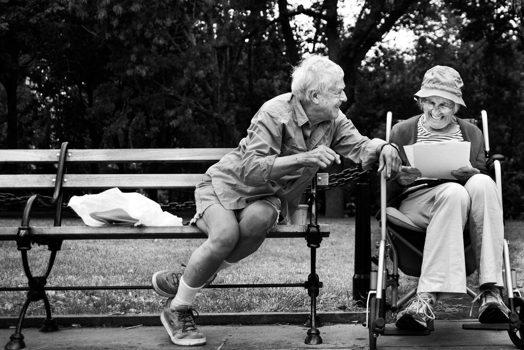 Two Old Friends, New York.  September 10, 2013.jpg