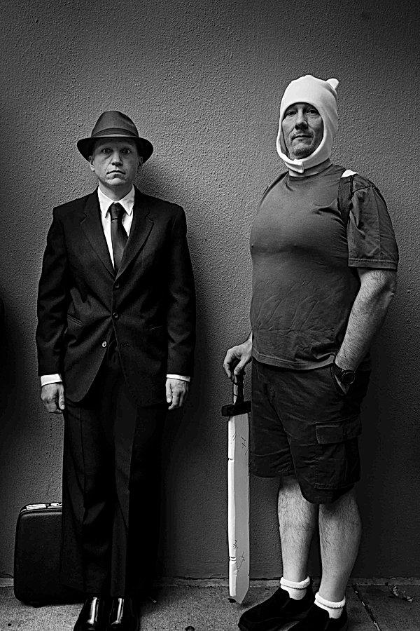 Two Friends Standing, Atlanta. September