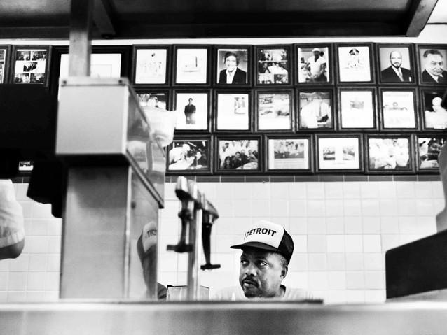 Lunch Counter, Detroit. August 1, 2013.j