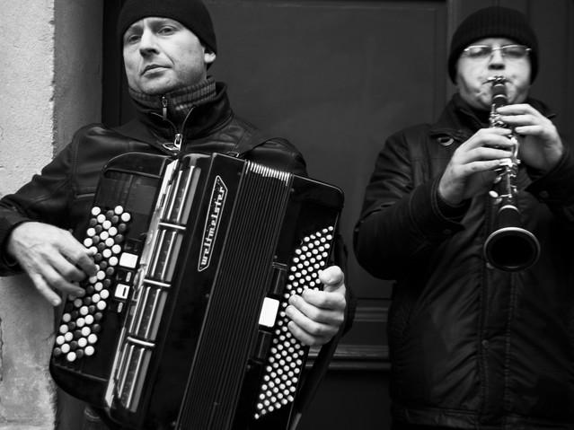 Street Musicians, Paris. November 24, 20