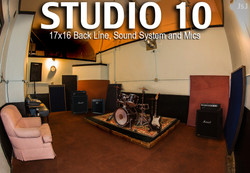 For Studio Info, Rates and Times