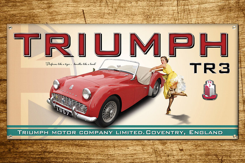 triumph tr3 British sports car