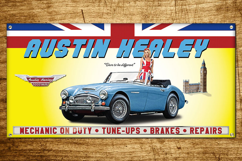 Austin Healey 3000 MKIII Blue