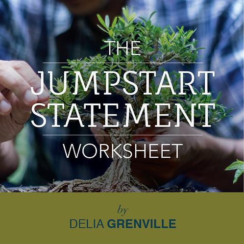 "30 Day Rules ""JUMPSTART"" Statement Worksheet"
