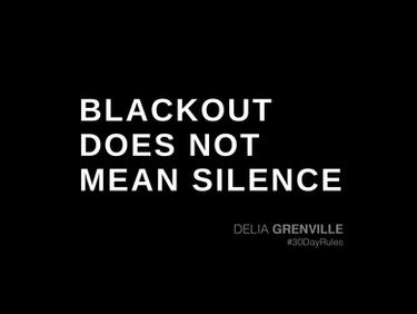 Blackout versus Shoutout: We can do them both