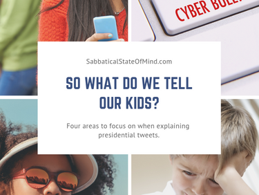 So what do we tell our kids?