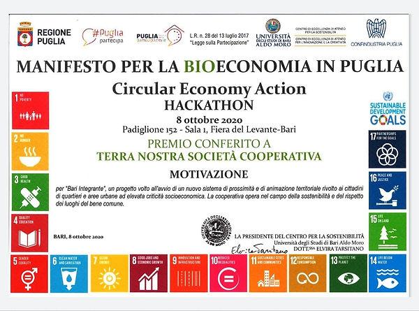 Premio sulla BIOECONOMIA in Puglia..jpg