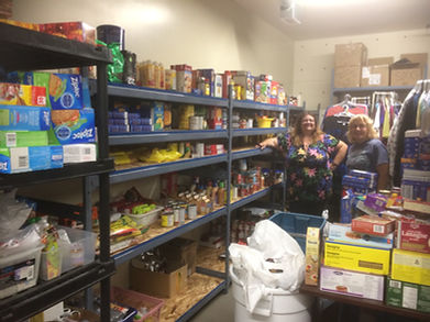 2020 September - Food Drive Donations (1