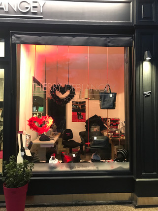 vitrine déco Saint Valentin