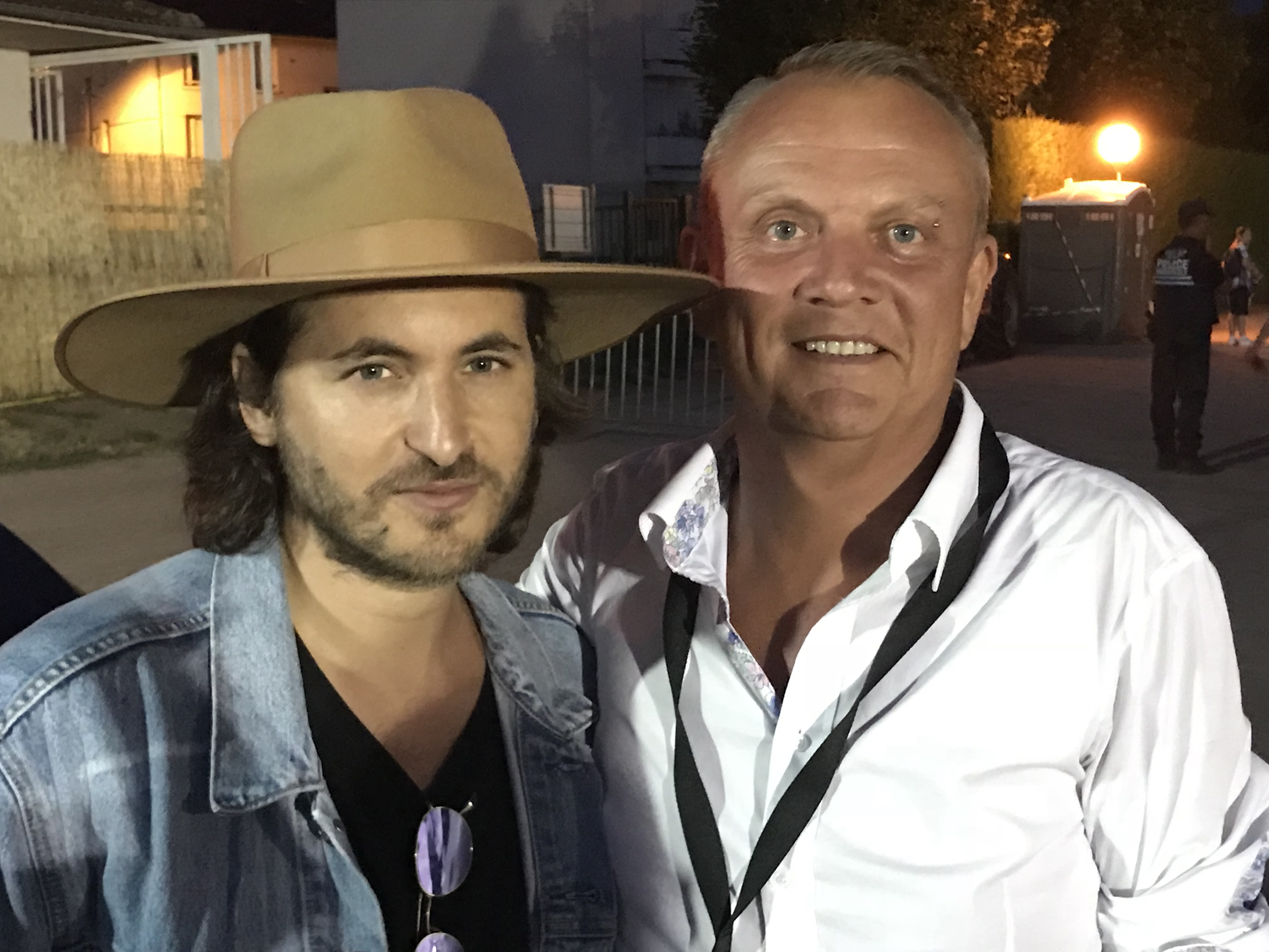 Mickaël Miro avec la casquette TD