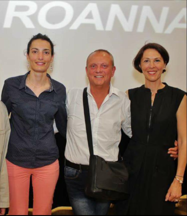 Sandra, Clotilde et moi