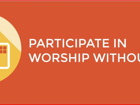 Worship Without Walls Sunday March 15