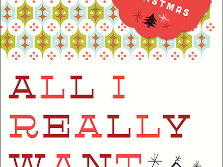 Advent 2014 'All I Really Want' Devotional Series