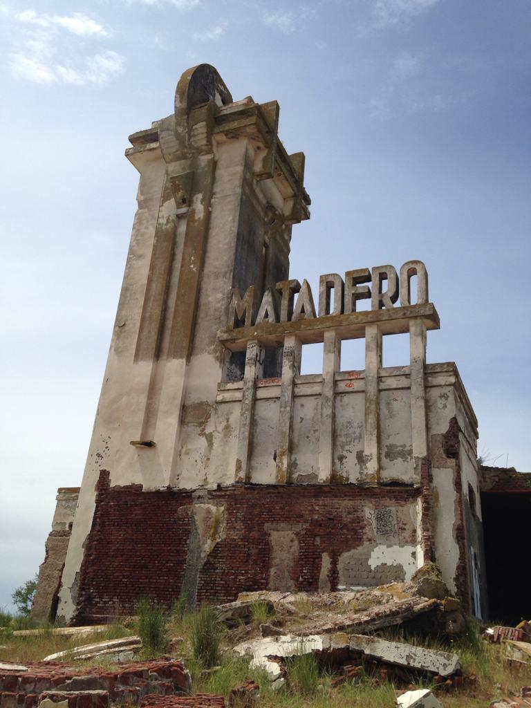 Ruinas del matadero de Epecuén, Carhué, Adolfo Alsina, Buenos Aires Argentina