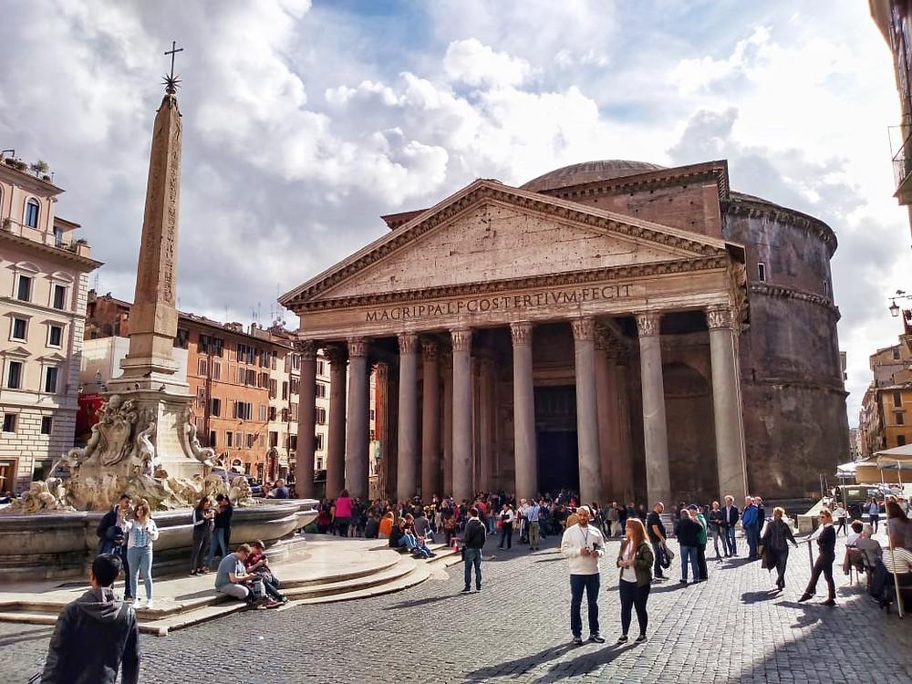 Qué hacer en Roma gratis - Panteon de Agripa - imperdible romano