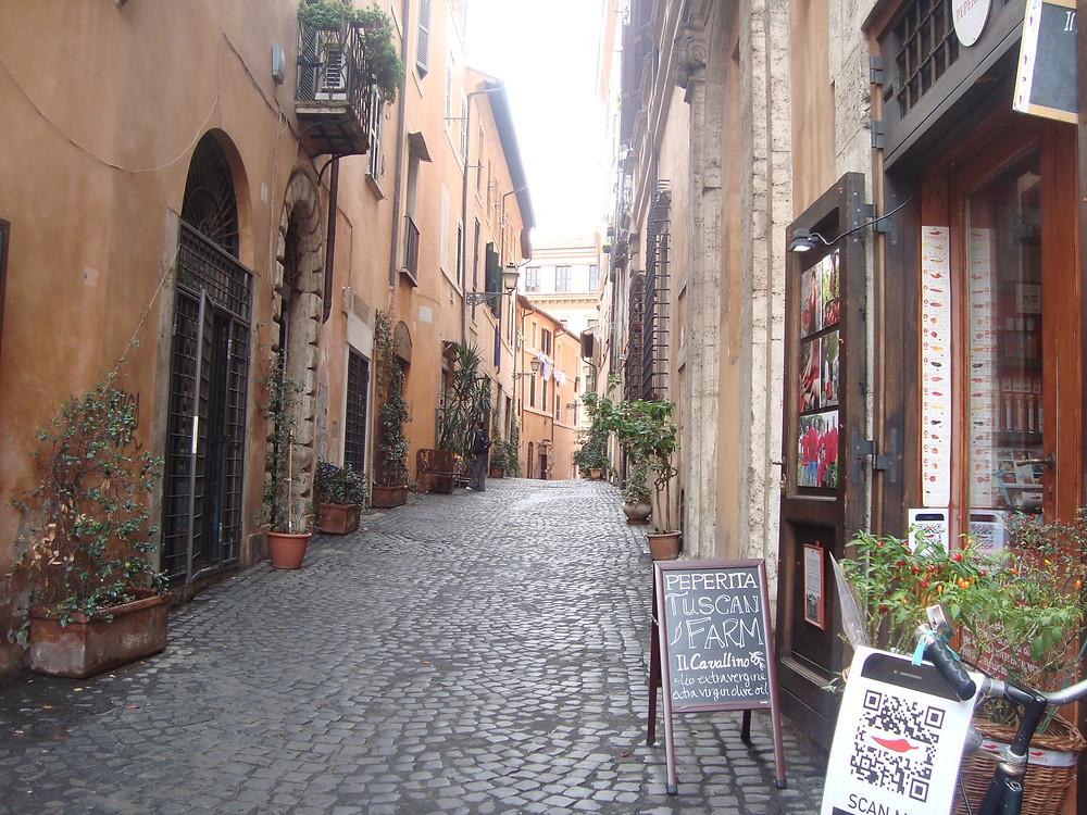 Las calles más lindas de Roma - Qué hacer gratis - Viajar barato a Italia