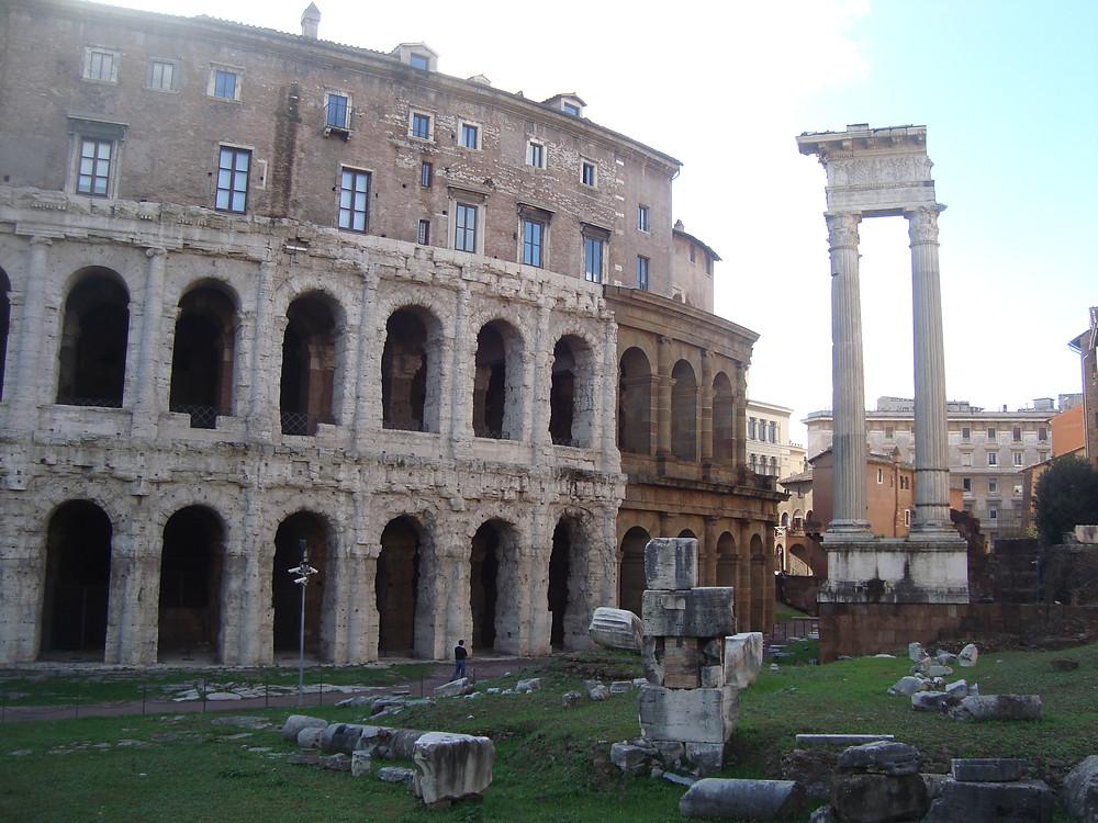 Qué hacer en Roma gratis - Teatro Marcello