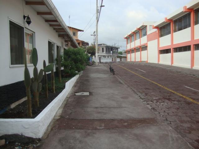 Calle en las Islas Galápagos