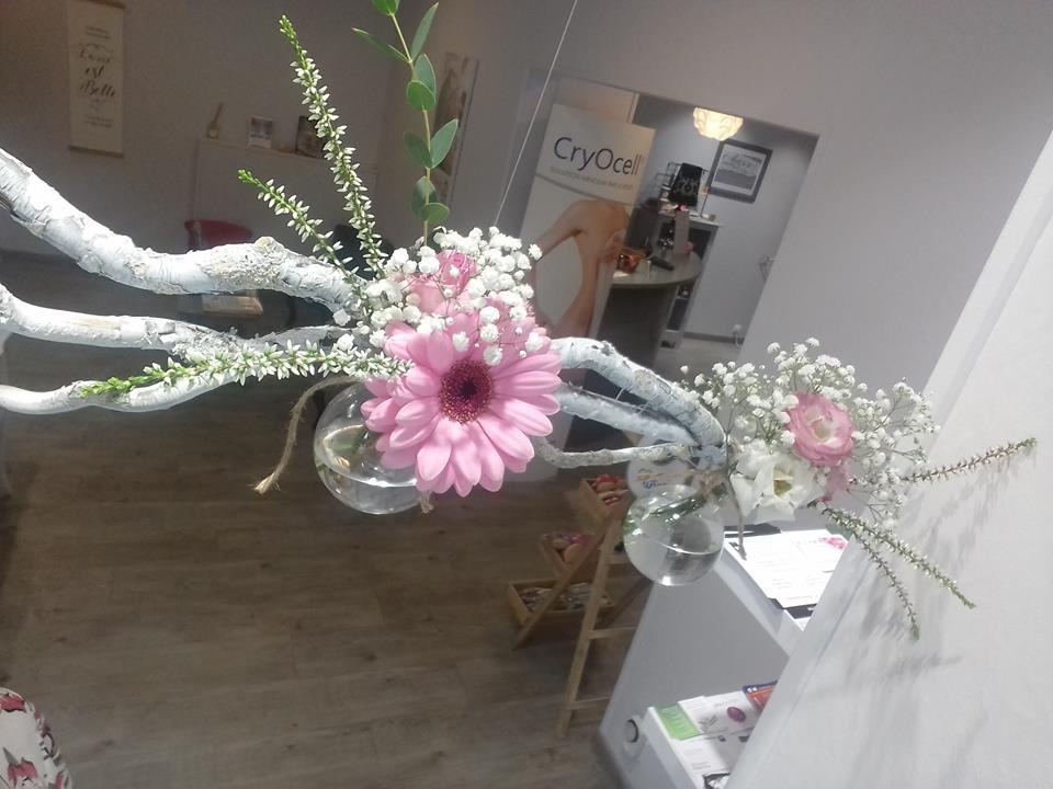 vitrine fleurie