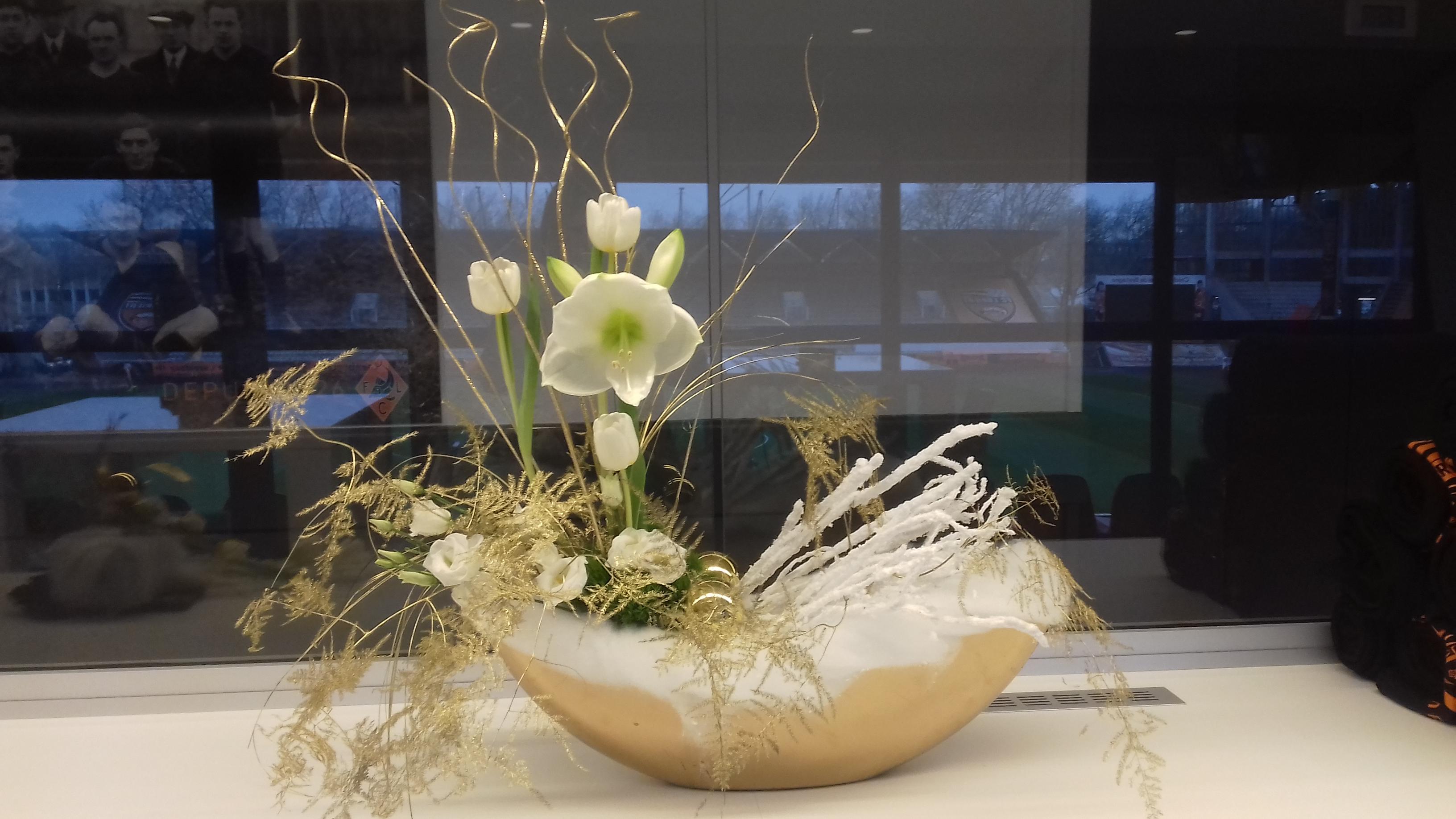 Composition florale pour les loges V