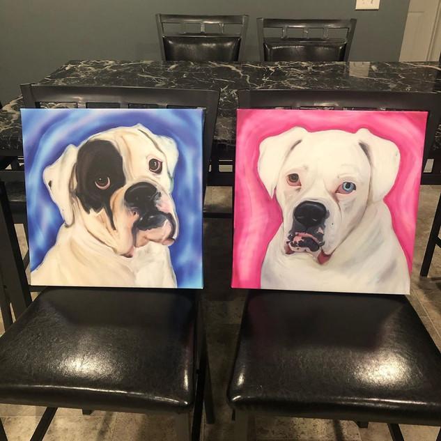 Zuzu & Sola canvas prints